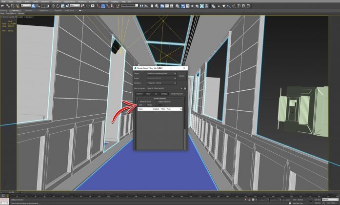 Creating an ambient occlusion pass in 3ds max