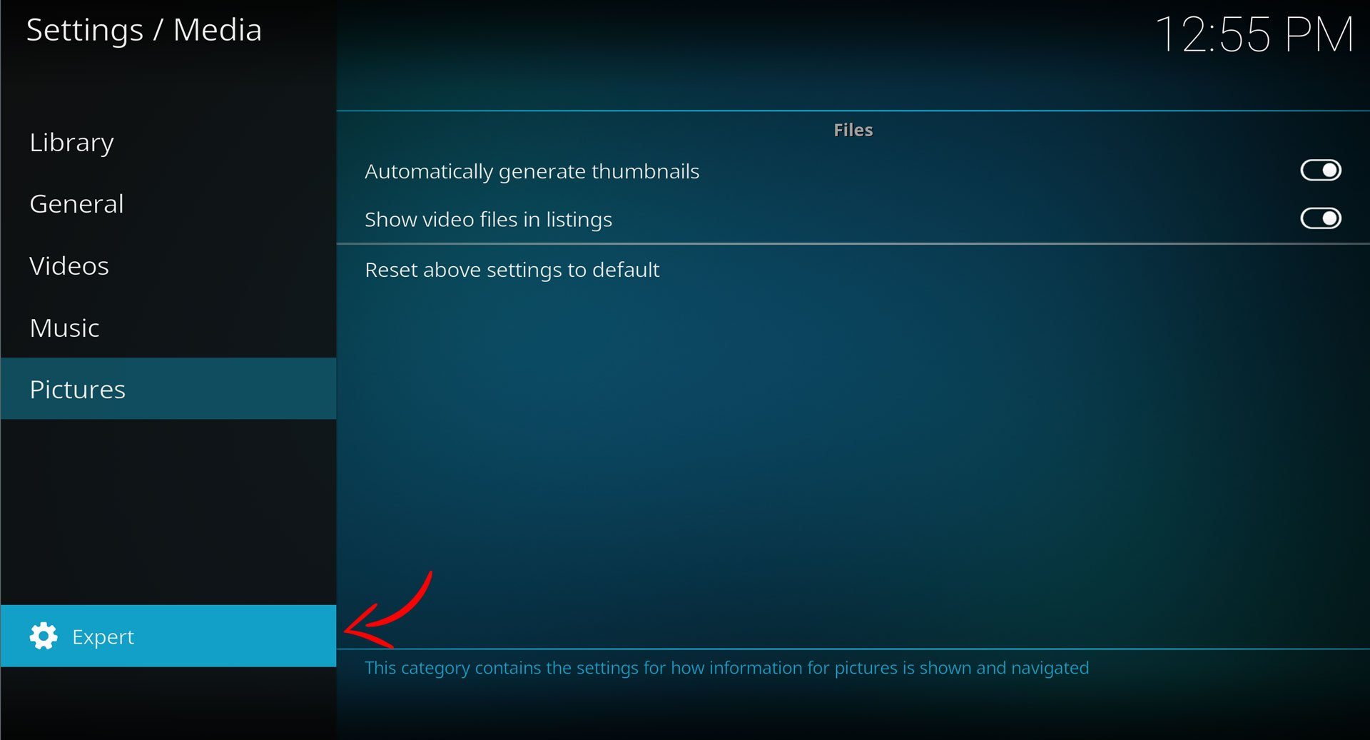 kodi clean library expert