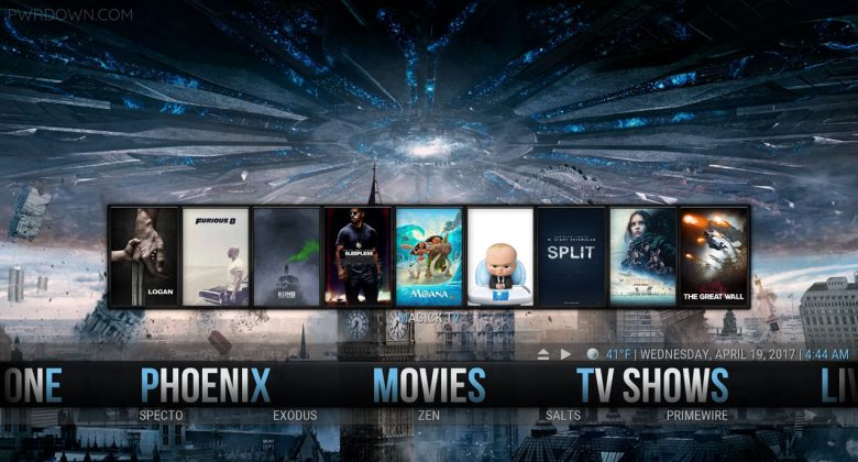 Kodi MagickTV Myth Build movies