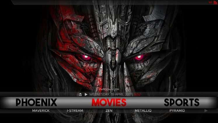 Kodi Wookie Build Movies