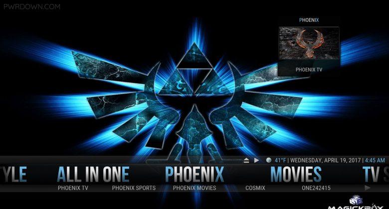 Kodi MagickTV Myth Build Phoenix