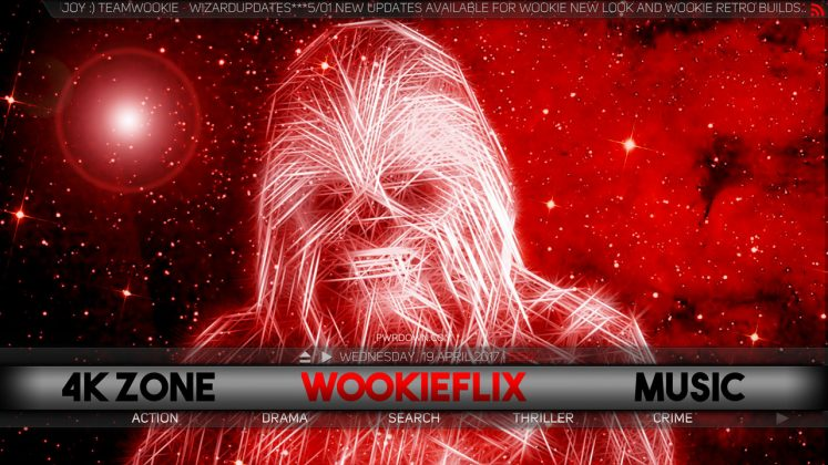 Kodi Wookie Build wookieflix