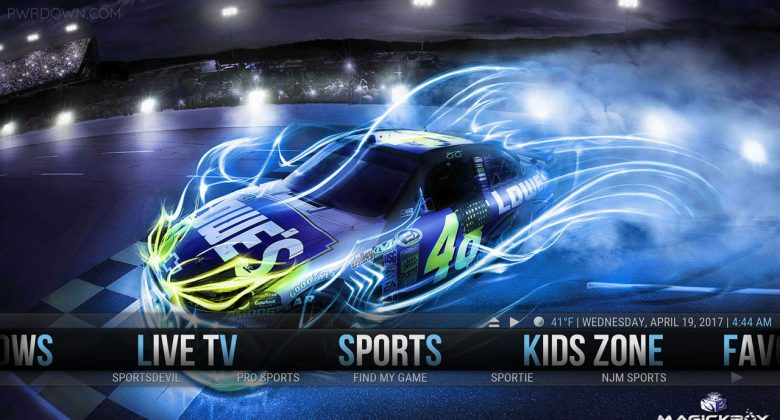 Kodi MagickTV Myth Build sports