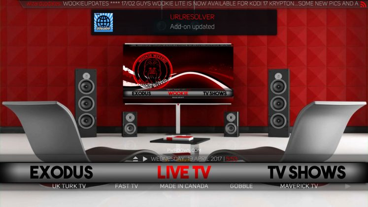 Kodi Wookie Build Live TV
