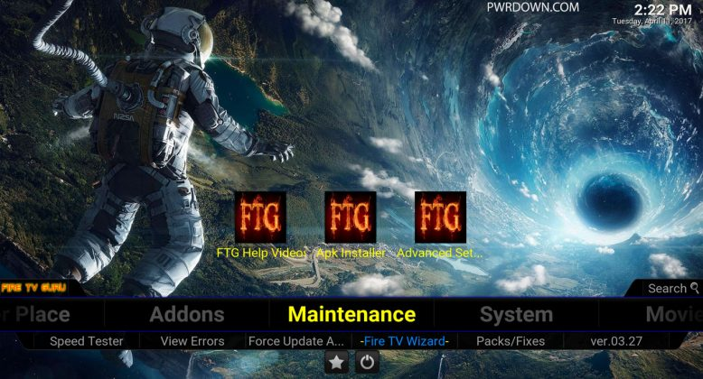 Fire TV Guru Build for Kodi Maintenance