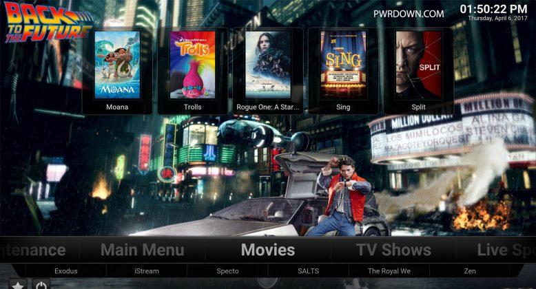 Kodi Titanium Build Movies