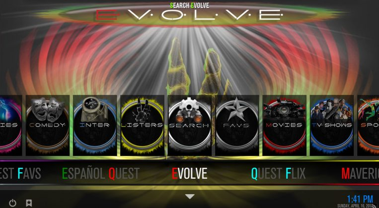 Kodi Quest Media Build Evolve