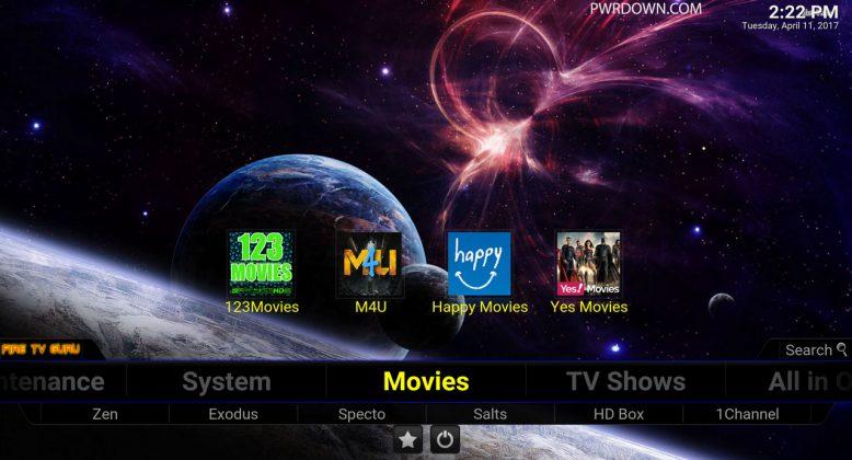 Fire TV Guru Build for Kodi Movies