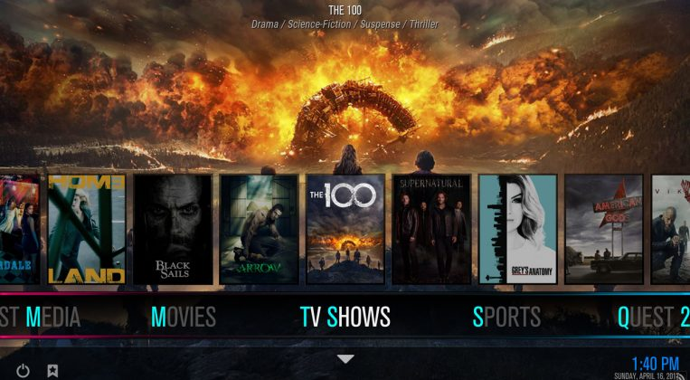 Kodi Quest Media Build TV Shows