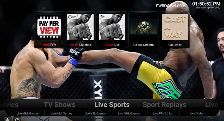 Kodi Titanium Build Live Sports