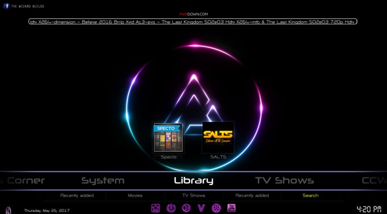 Kodi prism build Library