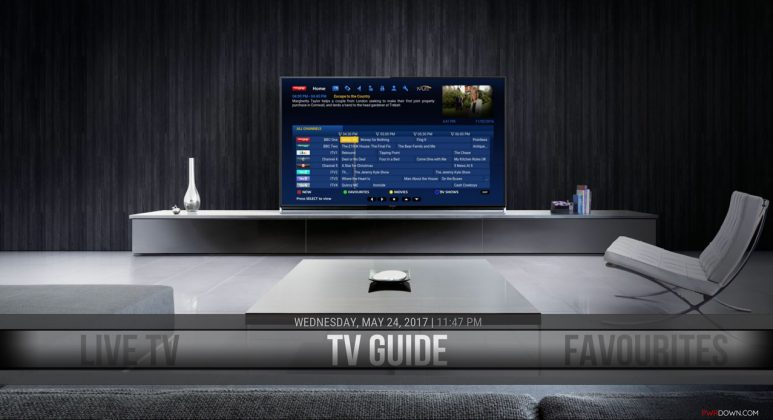 TV Guide in the Man Cave Build