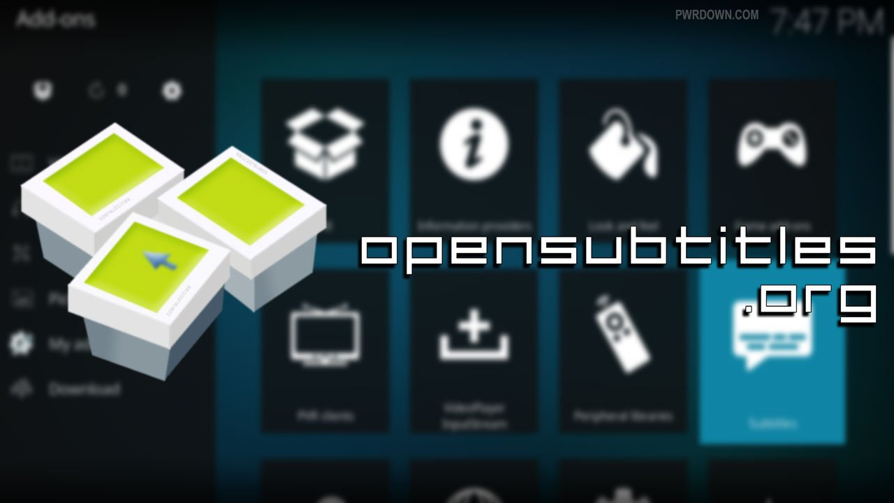 OpenSubtitles Kodi Setup - How to install and login guide