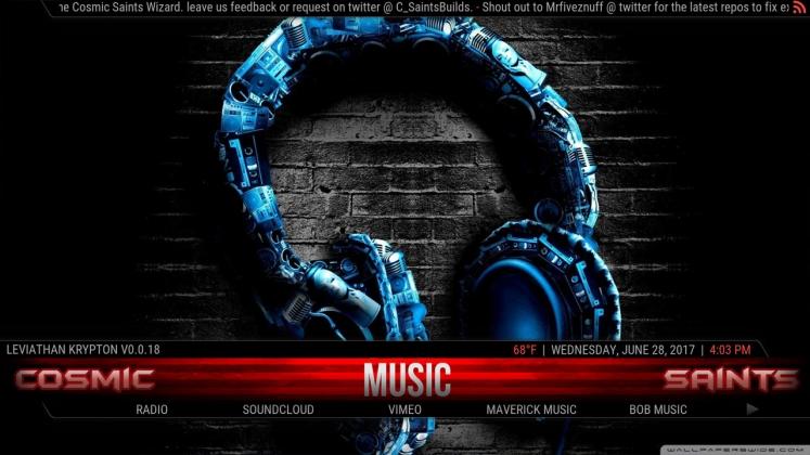 Kodi Leviathan Build Music