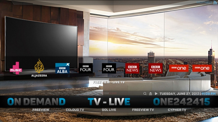 Apollo AiOne Build Live TV