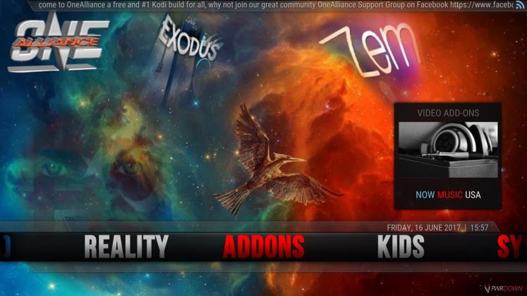 Kodi One Alliance Build Add-ons