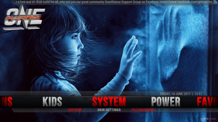 Kodi One Alliance Build System