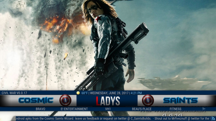 Kodi Civil War Build Ladies