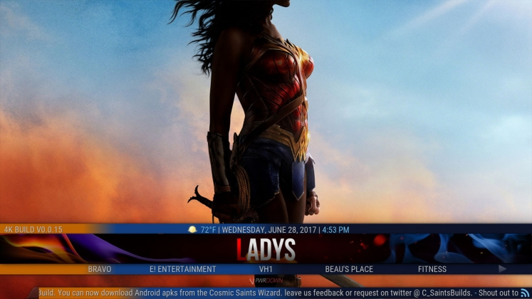 Kodi 4K Build Ladies