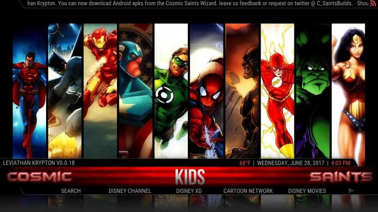 Kodi Leviathan Build Kids