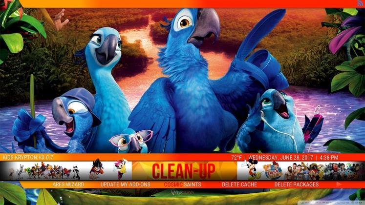 Cosmic Kids Clean-up