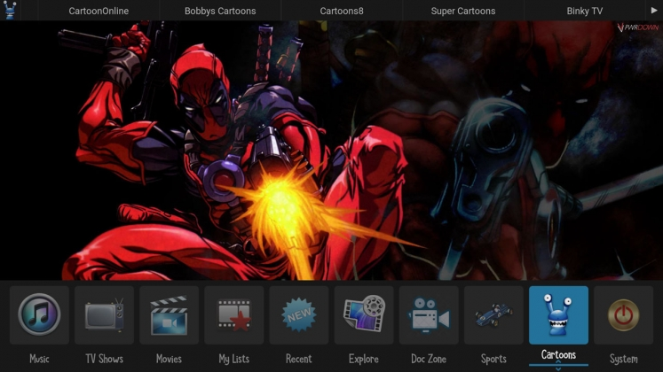 Kodi Zero Tolerance Builds Cartoons