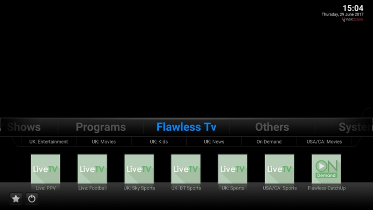 Kodi Brians Build Flawless TV