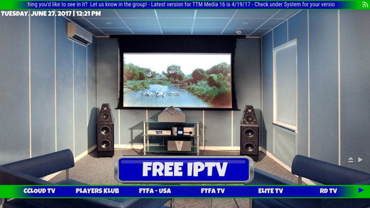Kodi TTM Media Build Free IPTV