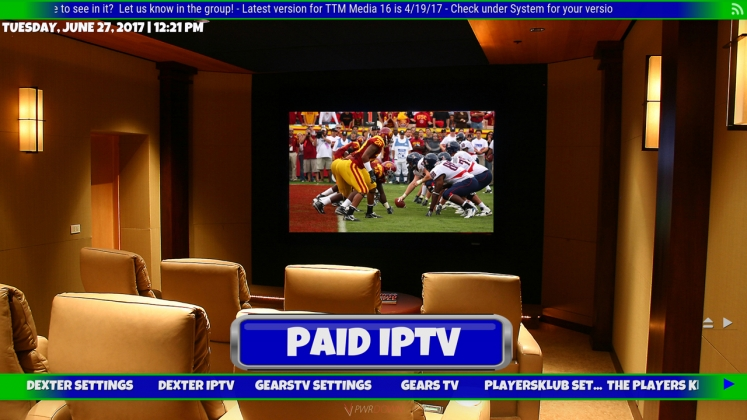 Kodi TTM Media Build Paid IPTV