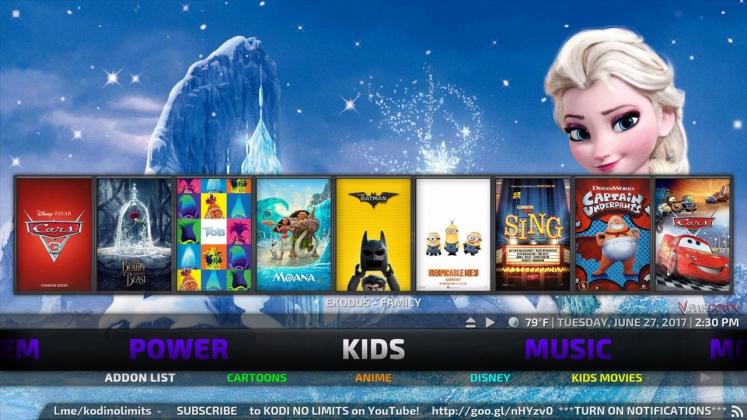 Kodi No Limits Build Kids