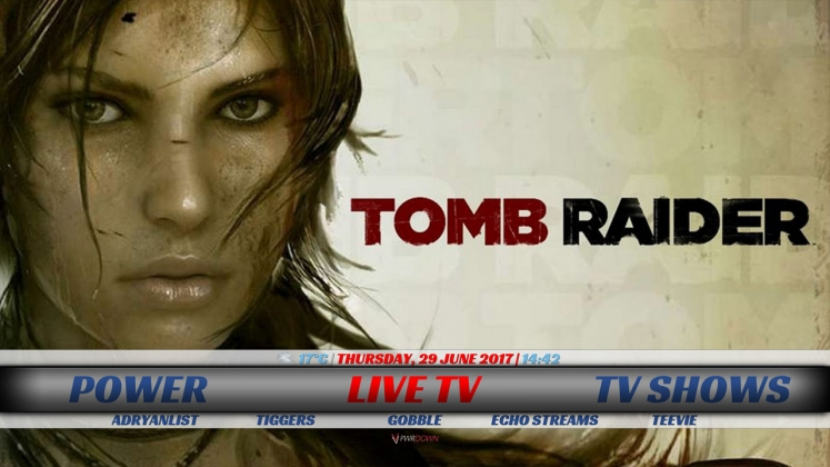 TomB Raider Build Live TV