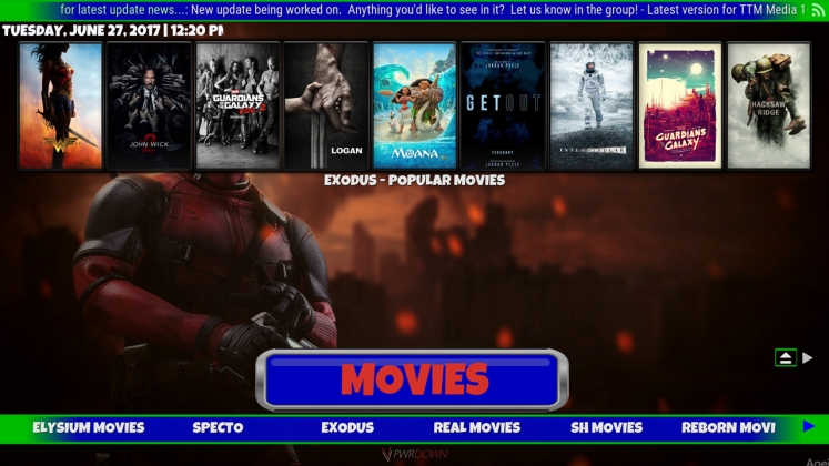 Kodi TTM Media Build Movies
