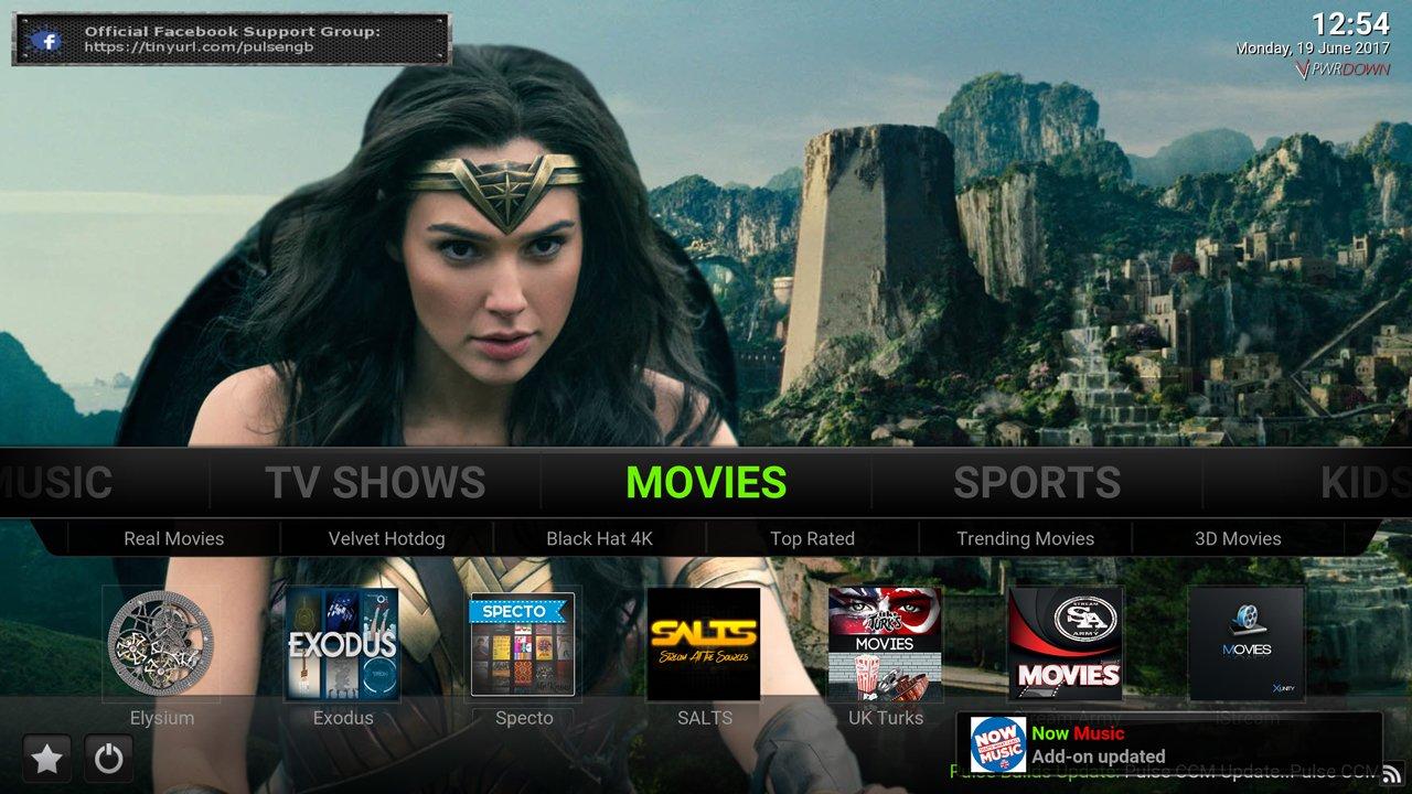 Kodi Pulse CCM Build Movies