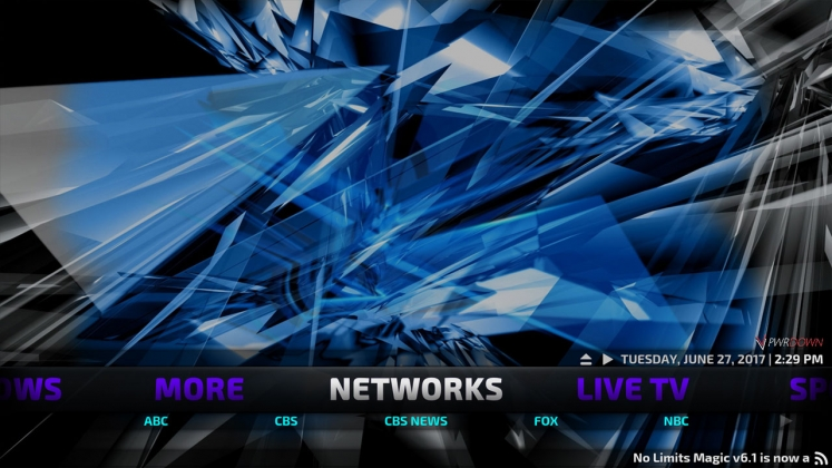 Kodi No Limits Build Networks