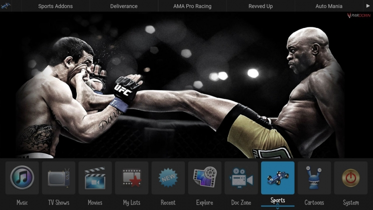 Kodi Zero Tolerance Builds Sports