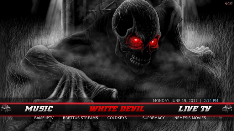 Wullies Build White Devil