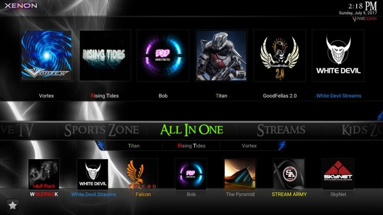 Kodi Xenon Build All in one