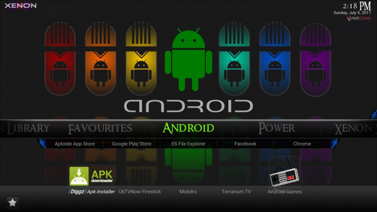 Diggz Fire Build Xenon Android