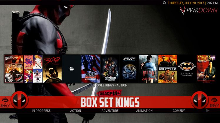 Kodi Project X Build Box Set Kings