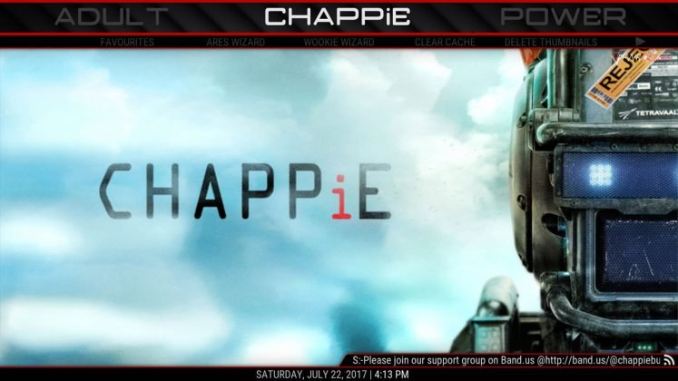 Kodi CHAPPiE Build CHAPPiE