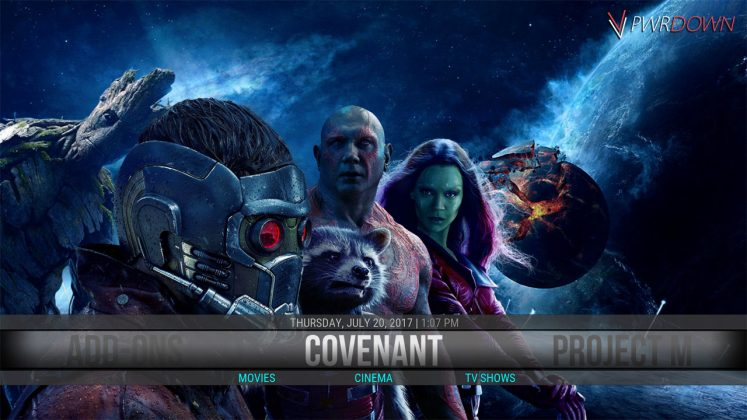 Kodi Grinny Build Covenant