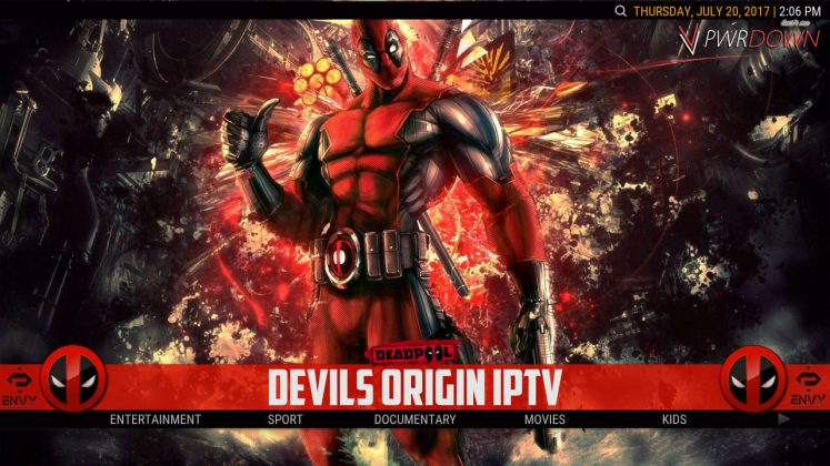 Kodi Project X Build Devils Origin IPTV