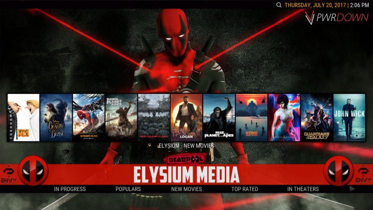 Kodi Project X Build Elysium Media