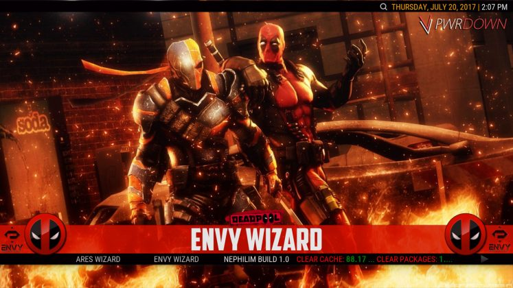 Kodi Project X Build Envy Wizard