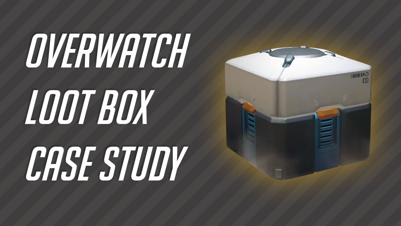 Overwatch Loot Box Opening Case Study