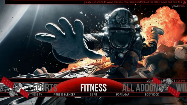 Kodi Horizon Build Fitness