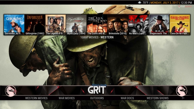 Kodi HardNox Build Grit