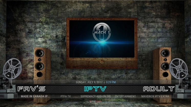 Kodi Mach 1 Build IPTV