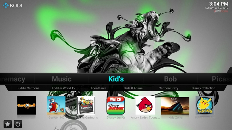 Kodi Stardust Build Kids