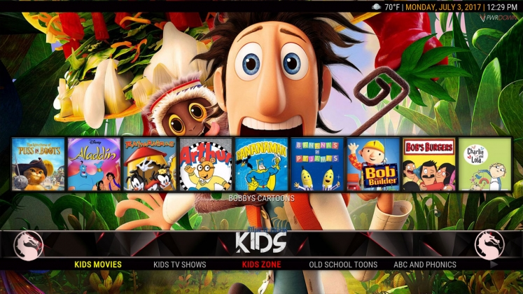 Kodi HardNox Build Kids